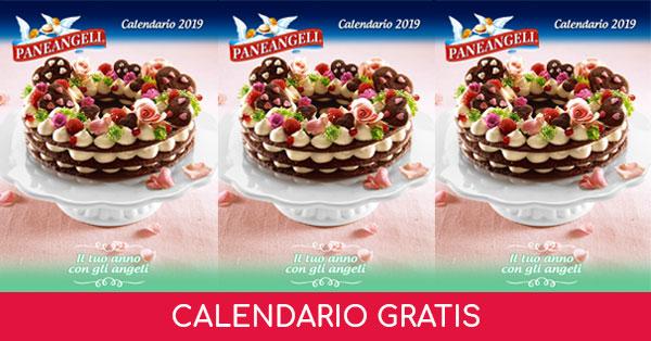 Calendario omaggio Paneangeli