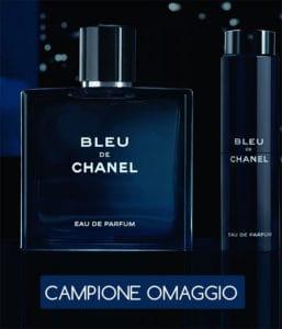 campioni omaggio Blue de Chanel