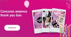 Concorso Essence Thank You Box