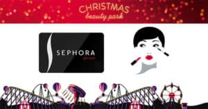Concorso Sephora Christmas Beauty Park