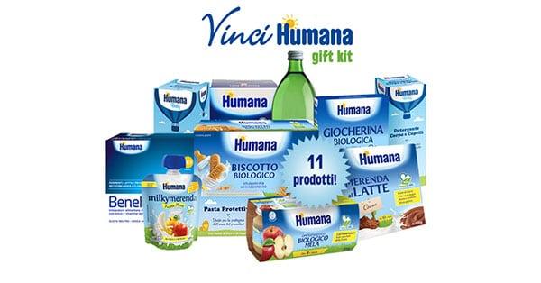 kit di prodotti infanzia Humana