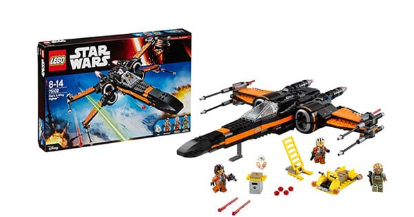 Lego Star Wars Poes X Wing Fighter