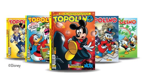 Concorso BIC Con Gelocity Illusion puoi vincere un abbonamento a Topolino