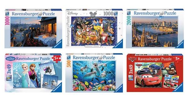 Concorso il mese del puzzle Ravensburger