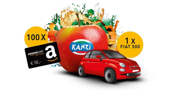 Concorso Kanzi Italy Play and Win 2018