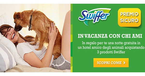 Concorso Swiffer Pet Friendly 2018