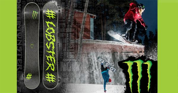 Concorso Vinci la tavola da Snowboard con Monster