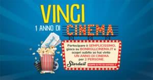 Concorso Vinci un anno di cinema con BonRoll AIA