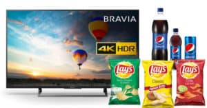 Vinci TV con Pepsi e Lay's
