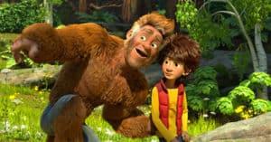 due biglietti cinema omaggio per il film Bigfoot Junior