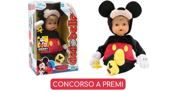 Vinci Cicciobello Mickey Mouse