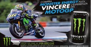 Concorso Con Monster vinci un Vip Pass Moto GP