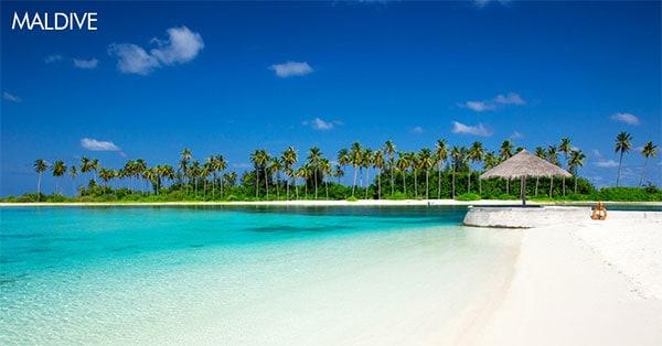 Concorso Vinciunsogno Vinci gratis viaggio alle Maldive