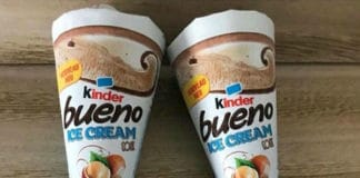 Gelati Kinder Bueno Ice Cream