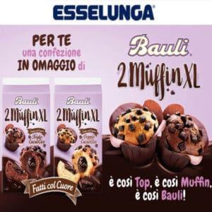 Confezione omaggio di Muffin XL Bauli