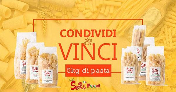 5 kg di pasta Seri Food