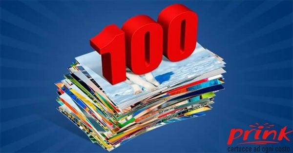 100 foto in omaggio