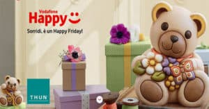 Buono sconto Thun in regalo con Vodafone Happy Friday