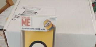 cuffie e power bank Minions by Tribe
