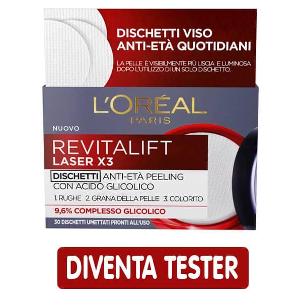 Dischetti anti-età Revitalift Laser X3 di L'Oréal Paris