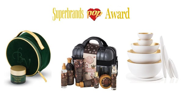 Concorso Superbrands Pop Award 2018
