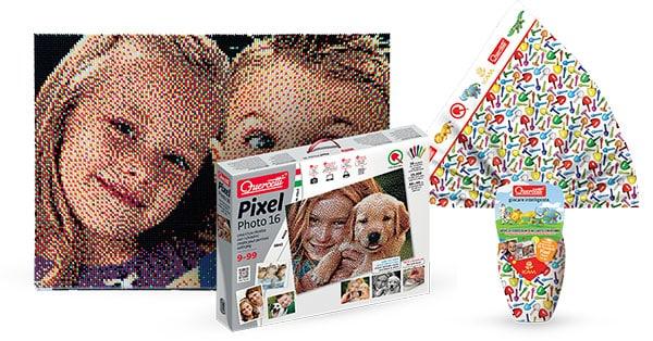 Grande Concorso Vinci decine di pixel 16 tavolette by Guercetti