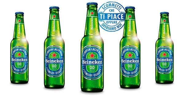 Heineken Scommetti che ti piace oppure offriamo noi