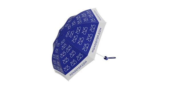 Richiedi gratis l'ombrello MondoTop