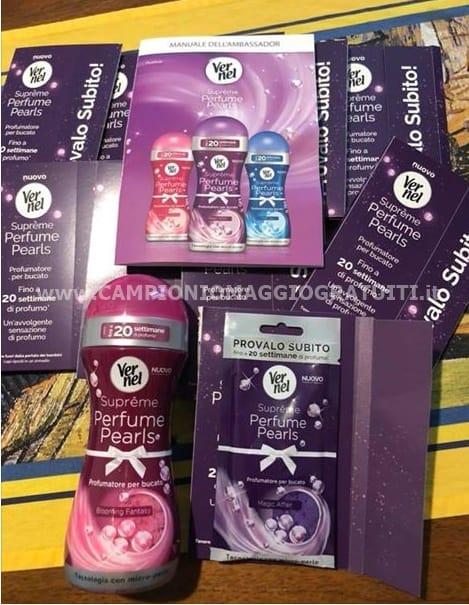 Vernel Suprême Perfume Pearls da testare gratis