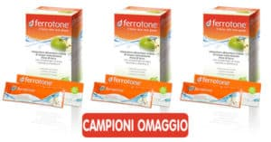 Campioni gratuiti Integratore alimentare Ferrotone