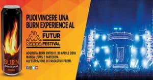 Concorso Compra Burn e vinci il festival della musica elettronica e techno