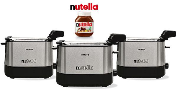 Concorso Con Nutella vinci il tostafette Philips