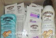Solari Hawaiian Tropic Silk Hydration da testare gratis