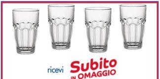 bicchieri Bormioli in regalo