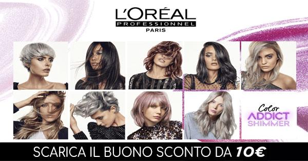 Buono sconto 10 euro L'Oréal Professionnel
