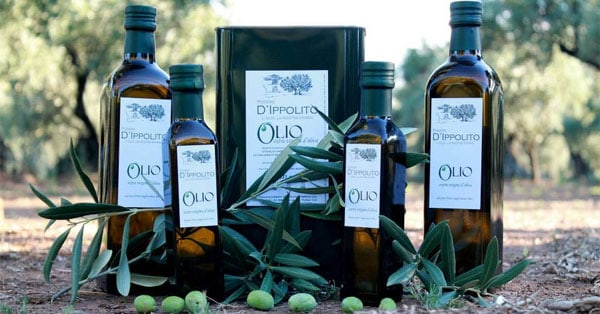 Campioni gratuiti olio extravergine d'oliva Podere d'Ippolito