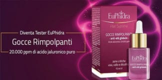 tester delle Gocce Rimpolpanti Euphidra