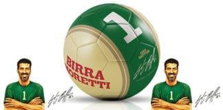 Concorso Birra Moretti In omaggio il pallone autografato da Gigi Buffon