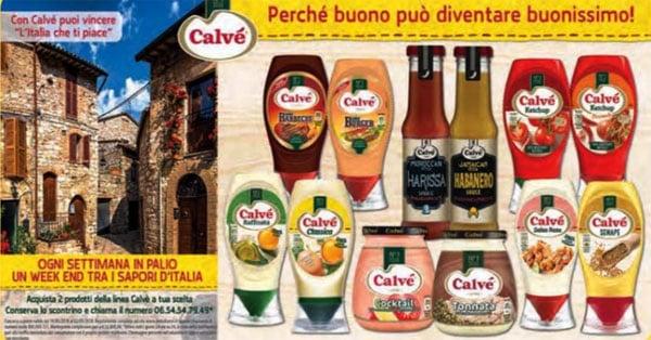 Concorso Calvé L'Italia che ti piace