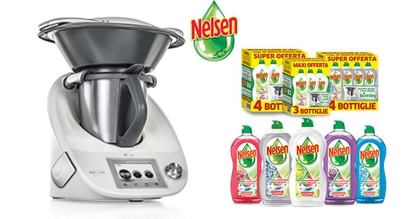 Concorso I tuoi alleati in cucina acquista Nelsen e puoi vincere Bimby 2018