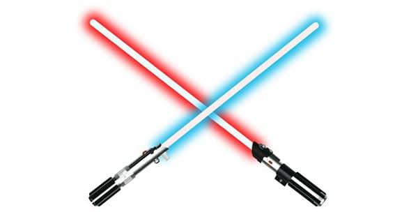 Concorso Radio Italia Vinci spada laser Star Wars