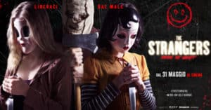 Concorso RDS Vinci biglietti cinema per il film The Strangers - Prey at night
