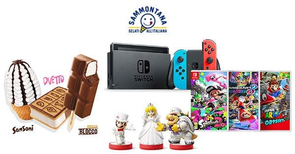 Concorso Sammontana Vinci Super Mario 2018