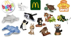 Peluche National Geographic Kids omaggio con Happy Meal