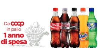 Concorso Con Coca-Cola e COOP puoi vincere un anno di spesa