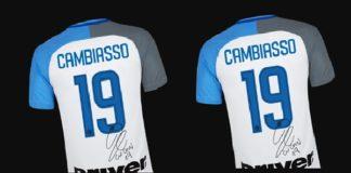 Vinci una maglietta dell'Inter autografata da Cambiasso
