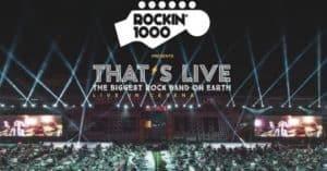 Vinci uno dei 65 concerti Rockin 1000 allo stadio Franchi di Firenze