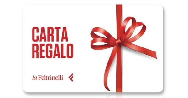 Vinci subito una gift card La Feltrinelli
