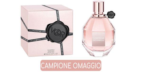 Campione gratuito Flowerbomb by Victor & Rolf