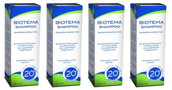 Campioni omaggio Shampoo Biotema